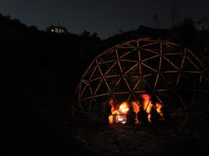 geodesic dome structure /domo geodesico estructura